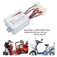 24V 500W Motor Brushed Controller Box for Electric Bicycle Scooter E-bike US