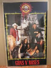 GUNS N' Roses rock n roll 1991 original Poster 1938