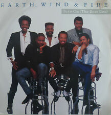 """7"""" 1988 ! EARTH WIND & FIRE Turn On The Beat Box /VG++"""