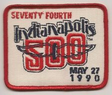 1990 Indianapolis 500 Event Collector Emblem Patch Arie Luyendyk Shierson Racing