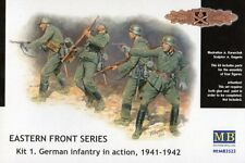 GERMAN INFANTRY IN ACTION, 1941-1942 - EASTERN FRONT SERIES  1/35 MASTERBOX