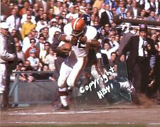 JIM BROWN photo in action 1963 Cleveland Browns HOF (c) #2