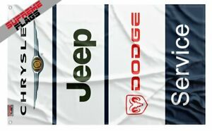 CHRYSLER JEEP DODGE SERVICE FLAG (3X5 FT) BANNER