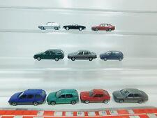 BO933-0,5 #10x Herpa H0 / 1:87 VW : Polo + Golf +Scirocco +Passat + Vento +