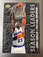 1993-94 Upper Deck Phoenix Suns Basketball Card #172 Cedric Ceballos SL