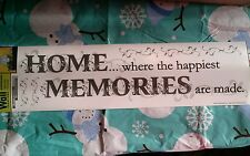 Home where the happiest memories are made Wall Sticker Walll decorWALL WORD