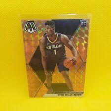 Zion Williamson Mosaic Gold Prizm Rookie Card - VINYL STICKER - NBA Pelicans RC
