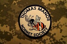 Thomas Manor Hornet Society Patch Color Perfect Condition Sew-on