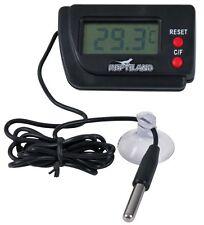 Termometro Digital Con Sensor Remoto Para Acuarios De Reptiles Terrarios &