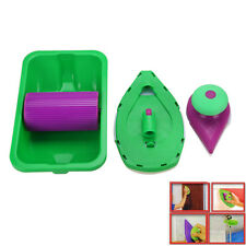 NEW Paint Pad Painting Roller Tray Sponge Set Kit Brush Home Wall Decor Tool