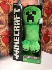 "MINECRAFT CREEPER 14"" Plush Stuffed Animal MOJANG Green"