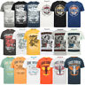 South Shore Tokyo Laundry T-Shirt Mens New Vintage Retro Graphic Print Crew Neck