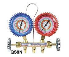 2 Valve Brass Manifold NPF® Gauges, 3FT SOFT HOSESBARRIER SET QS8N3SM - 5