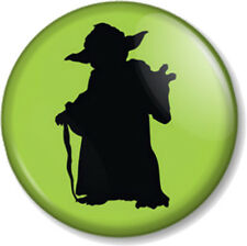 "Yoda (2) 25mm 1"" Pin Button Badge Star Wars Movie Character Frank Oz Jedi Master"