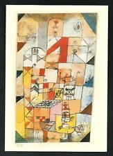 Paul Klee : Haus-Inneres, 1918 - riproduzione su cartolina di quadro d'epoca