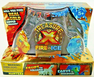 Treasure X Fire vs Ice Hunter Excavation Quest Pack New Sealed Rare Ships Fast