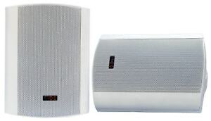 E-Lektron EWL5P-W passiv Lautsprecher Satz 125W Wandlautsprecher Boxen Paar Weiß
