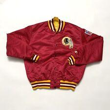 VINTAGE Starter Washington Redskins Jacket Size Large Burgundy 90s Proline