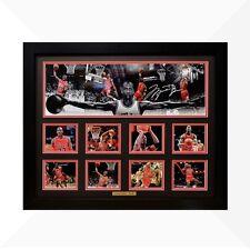 Michael Jordan Signed & Framed Memorabilia - Black/Red Limited Edition - NEW V2