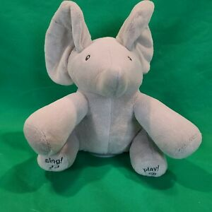 PBC International PEEK-A-BOO ELEPHANT Singing Talking Animated Plush (See Video)