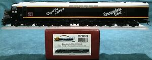 BLI P2 DCC/Sound CB&Q Chicago, Burlington & Quincy Centipede Diesel CUSTOM PAINT