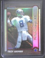 1999 Bowman Chrome International Refractor 66 Troy Aikman 31 of 100