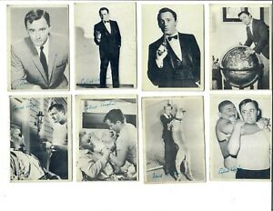 1965 TOPPS MAN FROM UNCLE Trading Cards Lot of 8 Different ~ VG Robert Vaughn