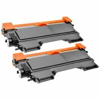 2 x Toner compatible NON OEM BROTHER Tn2220 Tn2010  DCP7055W DCP7057 HL2130