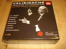 SERGIU CELIBIDACHE Sacred Music & Opera ORIG EMI CLASSICS 11 CD BOX SEALED OOP