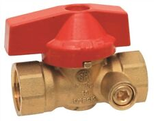 Premier 814723 Gas Ball Valve With Side Tap, 1/2 In. Ips