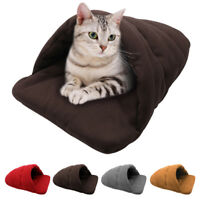 Pet Bed for Dog Cat Fleece Cushion Mat Pad for Dog Soft Warm Kennel Crate House