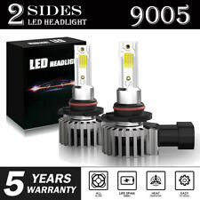 9005 9145 LED Headlight Kit 2200W 330000LM High Low Fog Bulb HB3 H10 6000K White