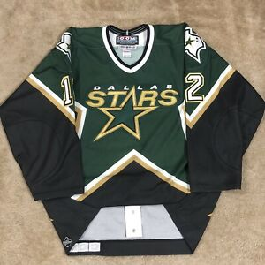 CCM Authentic Mike Keane Dallas Stars NHL Hockey Jersey Vintage Green Away 52