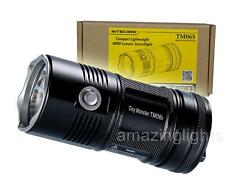 NiteCore TM06S 4000 Lumen 393 Yards Super LED Flashlight  - Upgrade of TM06 TM26