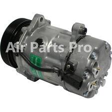 A/C Compressor W/Clutch NEW Volkswagen, Audi, Sanden type 1215