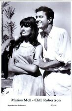 Actor Actress Duo SWIFTSURE 2000 - Postcard MARISA MELL & CLIFF ROBERTSON