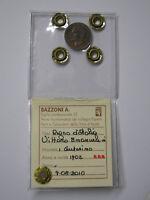 RARISSIMA MONETA DA 1 CENTESIMO DEL 1902 PERIZIATA DA BAZZONI, CONSERVAZ.  SPL