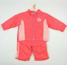 Oshkosh Baby Girl 2 Piece Coral Track Suit Size 12 Months