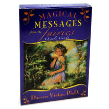 Magical Messages From The Fairies Oracle Cards Card Deck Guidebook Home Game New
