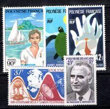POLYNESIE 1976 Yvert 106-110 ** POSTFRISCH (I3129