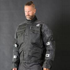 VESTE MOTO homme Cordura Textile CE Approved Armours NOIRE