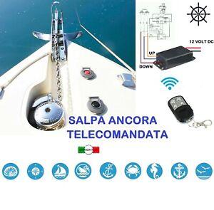 SALPA ANCORA PER BARCA RADIOCOMANDATO TELECOMANDO 500W  KIT COMPLETO
