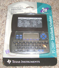 PS-2400+ DATA BANK/ SCHEDULER Electronic Handheld Device New In Package Sealed