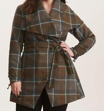 Torrid Outlander Mackenzie Tartan Punk Wrap Coat Size: 2 aka 18 20 2X #38802