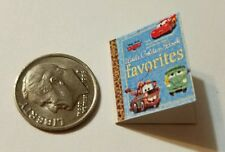 Miniature Book Disney Pixar Cars Movie Barbie 1/12 Scale Boy Toy Tractor C