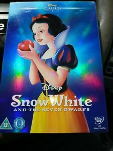 Unwrapped Disney DVD Snow White And The Seven Dwarfs