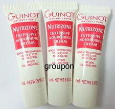 Lot of 3 Guinot Nutrizone Intensive Nourishing 3ml Sample Free Shipping