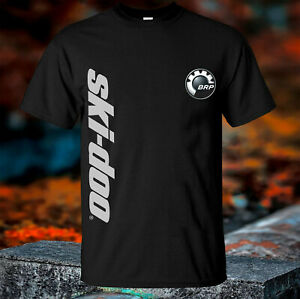 Ski Doo Logo TSHIRT Black Shirt Short Sleeve SIze S-2XL