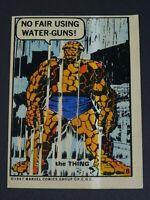 1967 Marvel the Thing Sticker PCGC Philadelphia Gum Number 8