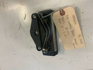 """Harken End Control Double Sheave 45mm track 32mm base 5"""" x 2.25"""" Used / Good Con"""
